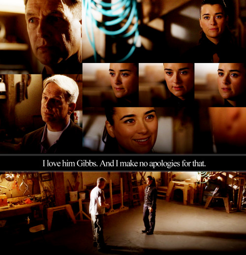 In another universe, Ziva tells Gibbs she loves Tony.