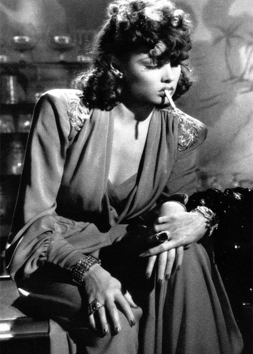 bellecs:   Gene Tierney in The Shanghai Gesture (1941)