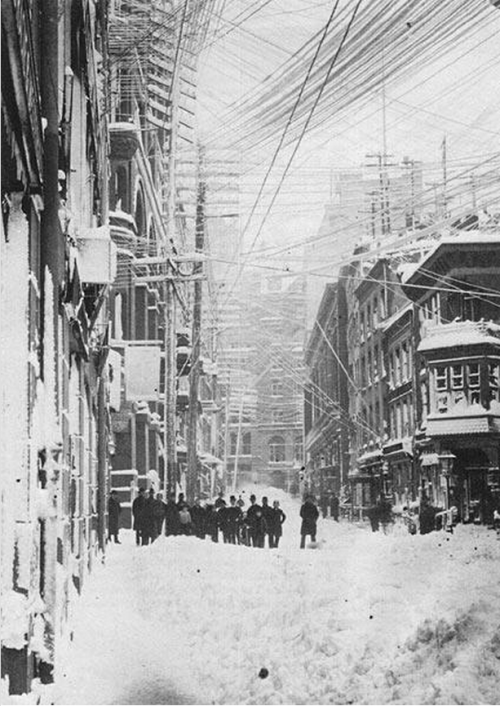 firsttimeuser:  New York City, Blizzard of 1888