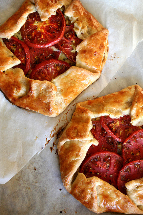 FOUND. Tomato, Corn and Cheese Galette