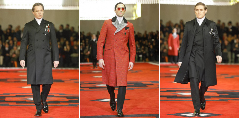 Prada - Menswear Fall Winter 2012 via Nowfashion