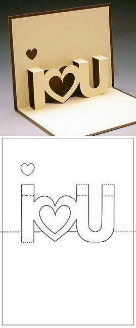 Craft / i heart u card