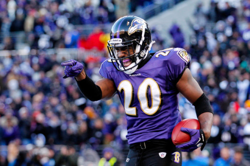 Ball. So. Hard. Ravens win and the city of Baltimore can thank Mr. Reed. *Let's hope he's okay! (Photo by Rob Carr/Getty Images)