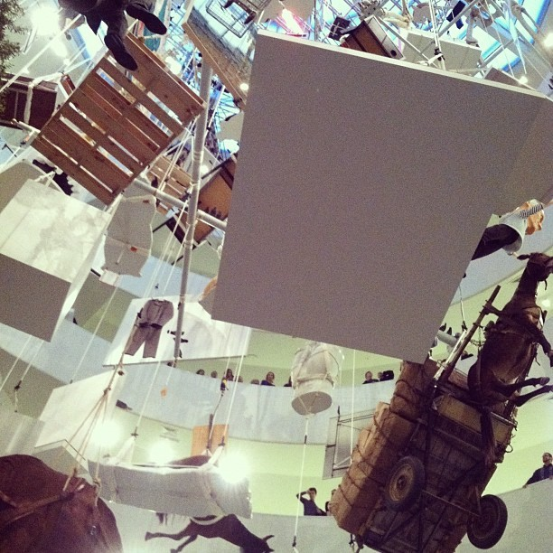 Taken with Instagram at Guggenheim Museum