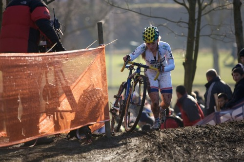 Daphny van den Brand, via World Cup #7 – Lievin | cyclephotos | mud, sweat and gears More great photos of Liévin World Cup at cyclephotos.co.uk