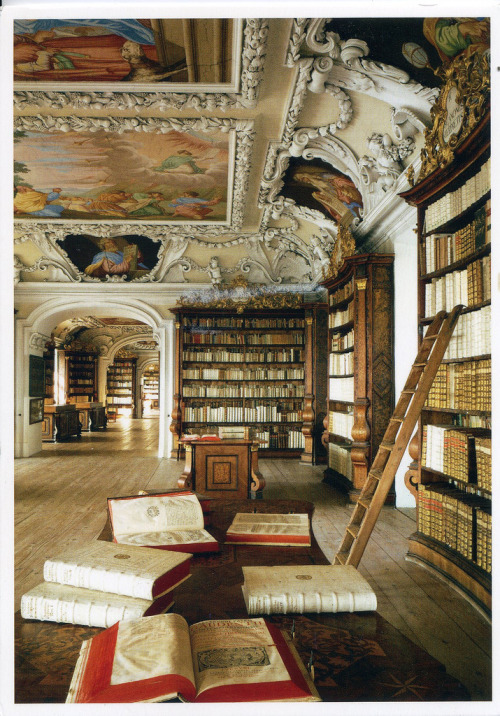 cjwho:  Benedictine Abbey of Kremsmünster, The Monk Library ~ http://bit.ly/wyrZ0i