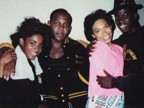 Another Rare Photo of the cast from house party... - AJ ...
