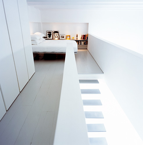 userdeck:  The white stairway.