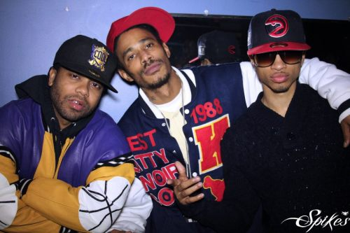 Baby Blue, Layzie Bone, & Spectacular  Photo by: Spikes
