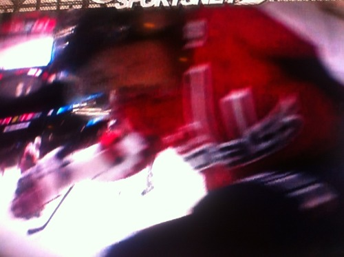 Via @Chris_Gordon, here's the net cam's view of Ovi as he crashes into the goal.