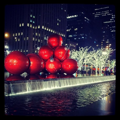 Xmas in NYC (Taken with instagram)