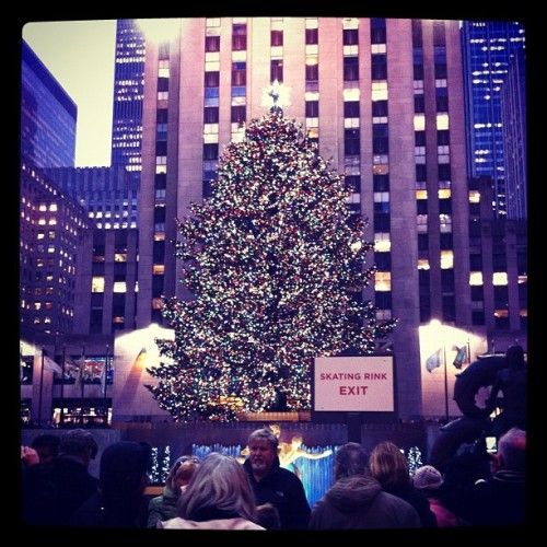 Rockefeller Center (Taken with instagram)