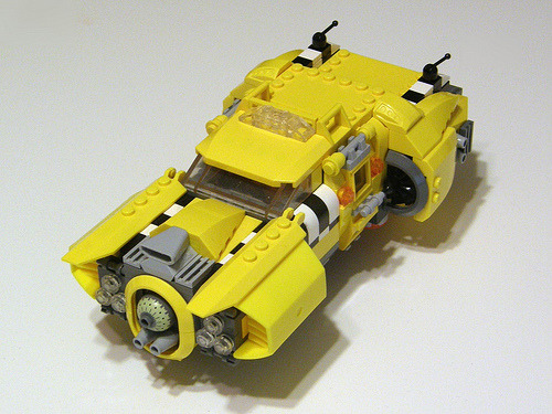 Chrysler Rubanis Taxicab (from The Fifth Element)