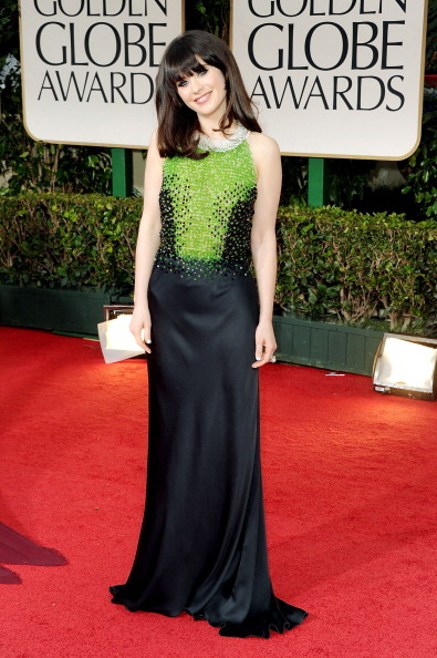 "Zooey Deschanel, another girl seriously testing my vow to not be a seething snarkbomb towards other women.  She's just *so* infantile manic pixie dreamgirl male fantasy!  STOP SAYING YOU'RE NOT COOL.  YOU ARE THE DUMB BUT PRETTY ""NERD"" GIRL WHO CAN'T FUNCTION THAT EVERY ""NICE GUY"" DREAMS OF COMING HOME TO.  or at least you play one on TV.  Yeah none of the women on Community get nominations but she gets one.  And she has a tumblr but doesn't follow OMGTD.  >_>  *stink eye*"