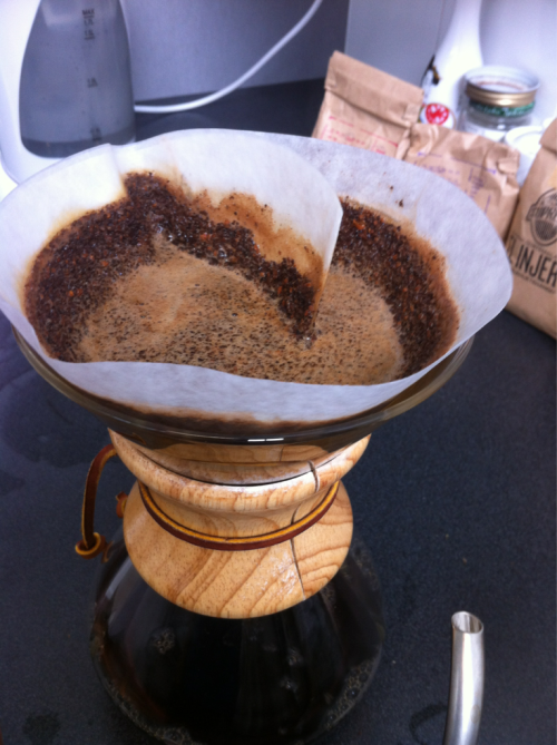 Chemex not always going to plan. (we're human too)
