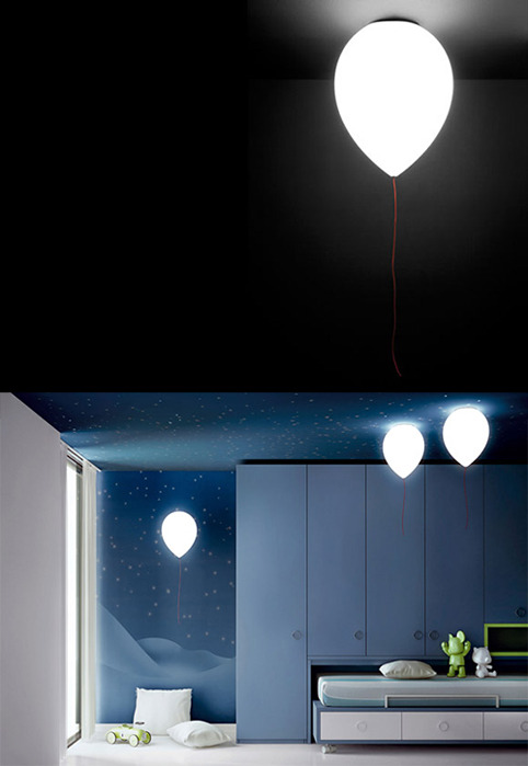 nevver:  Balloon Lamp