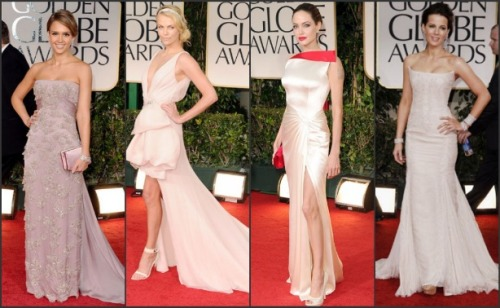 My Favorite looks of the Golden Globes.  100% Perfection.  Honorary Mention: Reese Witherspoon, Rooney Mara, Sofia Vergara, Elle Macpherson & Evan Rachel Wood, Shailene Woodley.