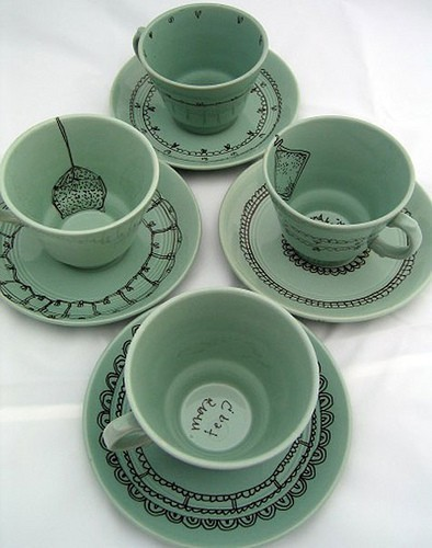 What a fun teacup set! AGWT