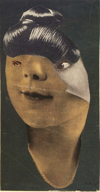 bravomartin:  German Girl, 1930 by Hannah Höch. via VVORK