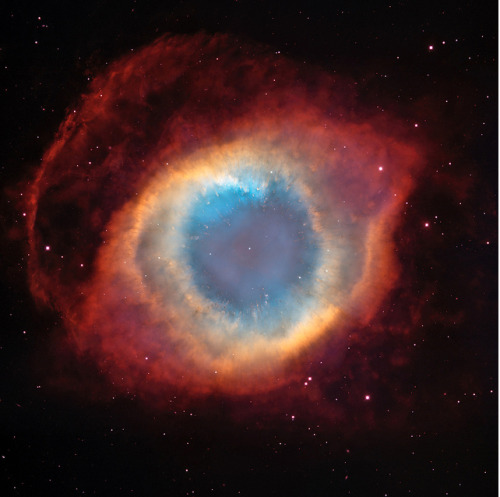Helix Nebula from Hubble Telescope. 2004. NASA Goddard Flickr Stream.