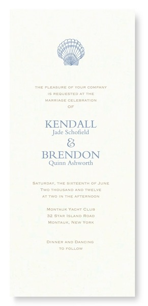 beach wedding theme invitations vera wang
