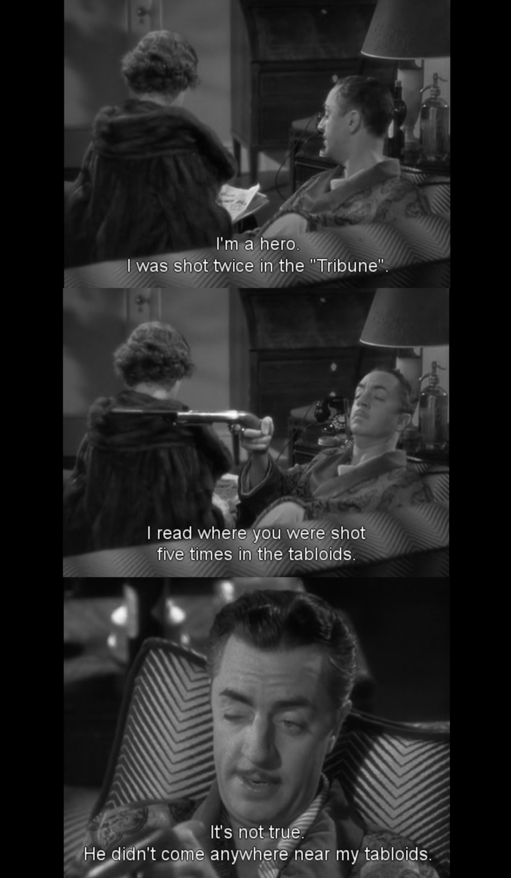 William Powell, The Thin Man (1934)  [ from yuhuang]