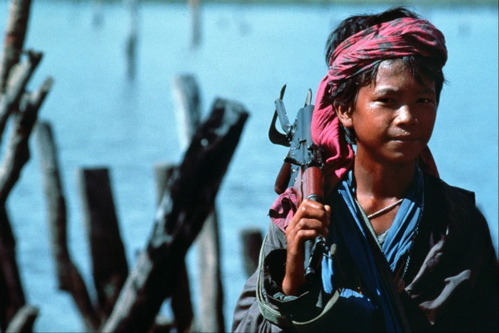 Cambodian Child Soldier