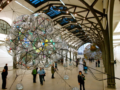 Cloud Cities by Tomas Saraceno - Berlin