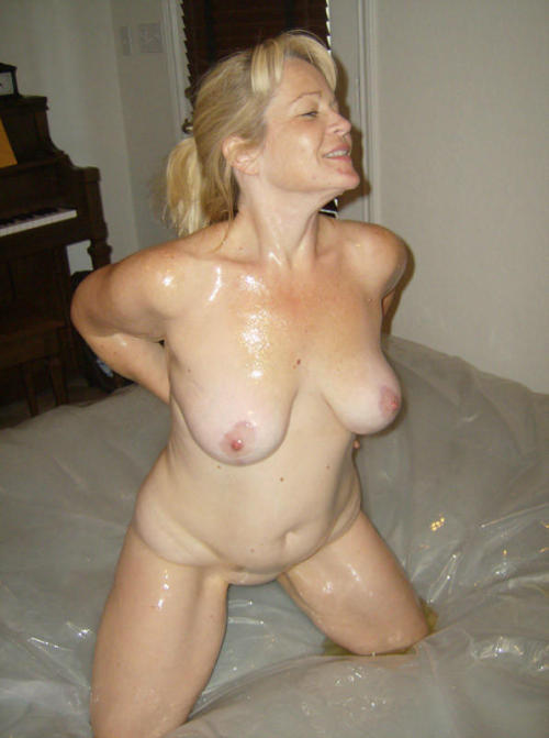 Oil those titties up! BeNaughty.com