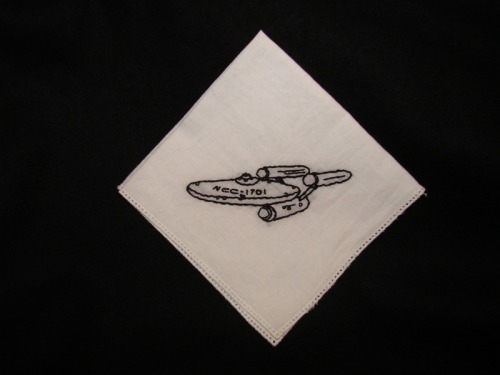 Enterprise handkerchief by BADGRAMMAR