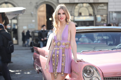 Chiara Ferragni for Luisaviaroma Stylelab - Fauso Puglisi Dress