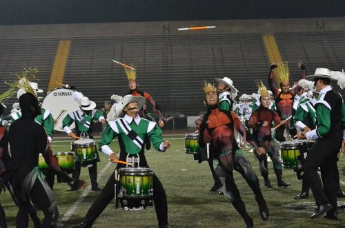 S is for stick toss. Cavaliers, 2011.