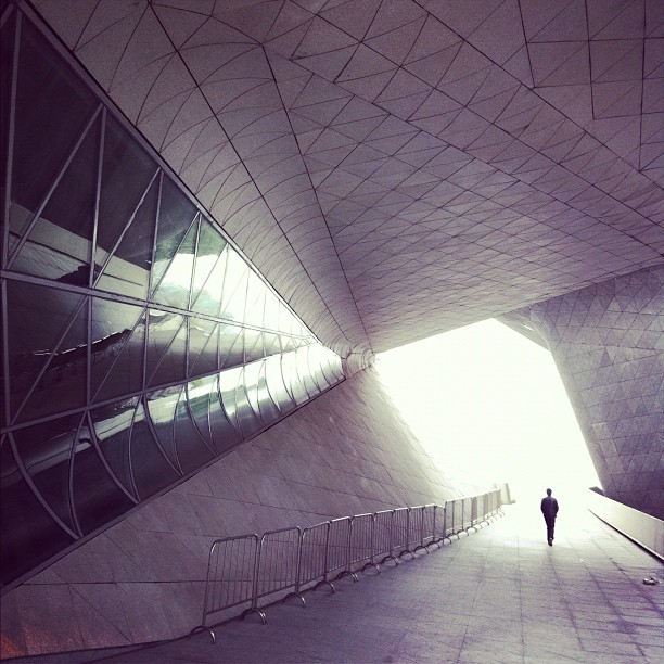 xsailamoon:  into the light #Guangzhou #opera #house (Taken with instagram)
