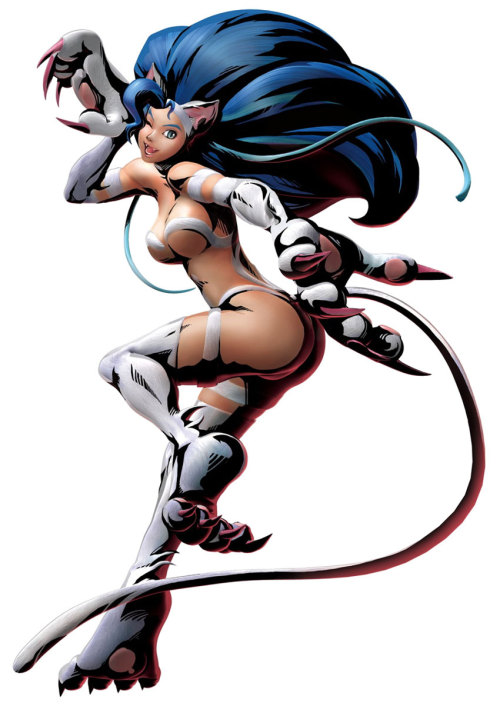 Felicia in Marvel vs. Capcom 3.