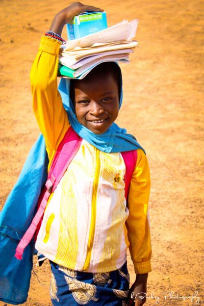 On her way to school … Niger 2012