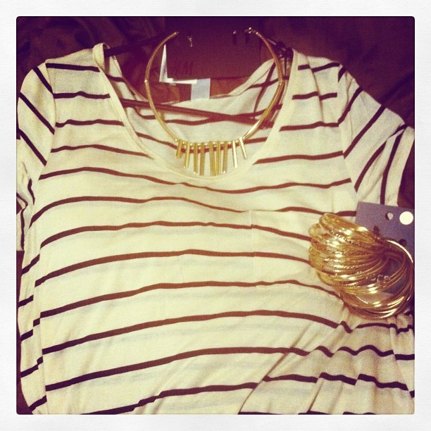 thegirlnextdior:  Recent purchases from #H&M ! (Taken with instagram)