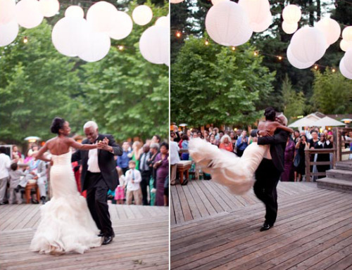 fuckyeahweddingideas:  Awesome father daughter dance!