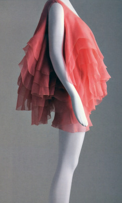 Chiffon Party Mini!  a la Isabel Toledo.  Layers of decadent pink silk  :)….. drool