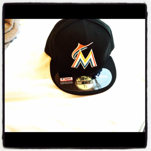 Miami Marlins Fitted. Fresh