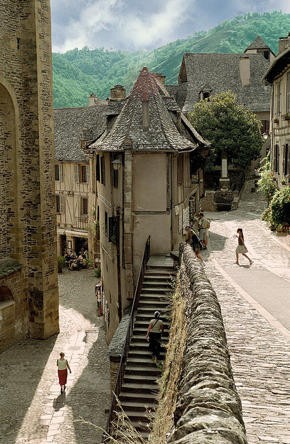 ysvoice:  | ♕ |  Village of Conques - Midi-Pyrenees, France  | by © Howard Somerville