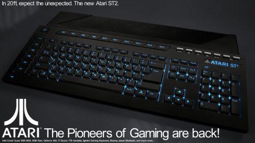 Hacen este ordenador, Y LO PARTEN. Lástima que ahora Atari no sea ni la sombra de lo que fue…