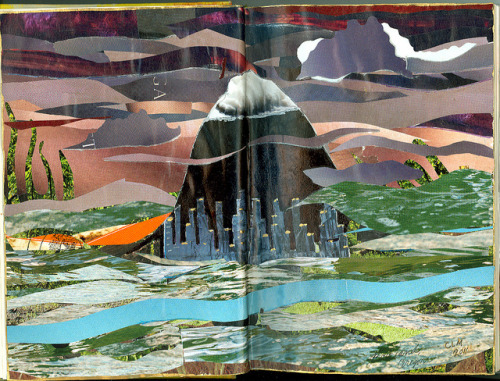 Altered Book - Portland by Imajica Amadoro on Flickr.