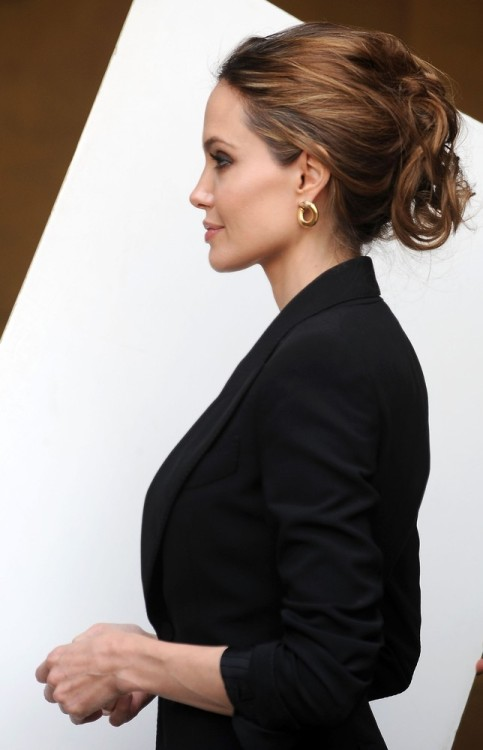 Angelina Jolie at the Golden Globe Foreign Language Nominees Seminars, January 14th