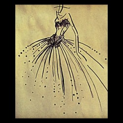 Fashion sketching on a bright Sunday afternoon  #wedding #bridal #fashion #sketch #instagram #illustration