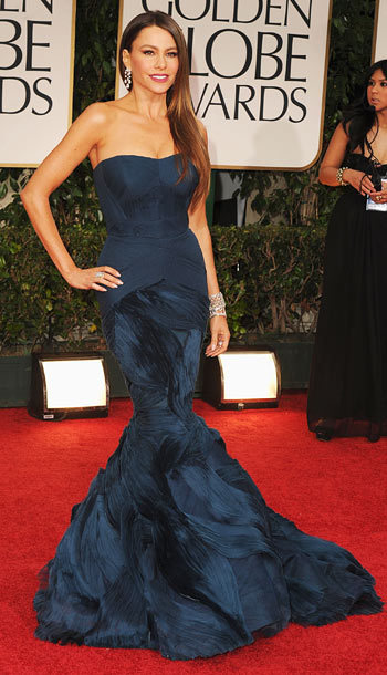 Sofia Vergara in Vera Wang. Wow, just wow. See more of my red carpet commentary here.