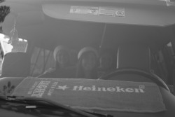 Heineken Girls on bus