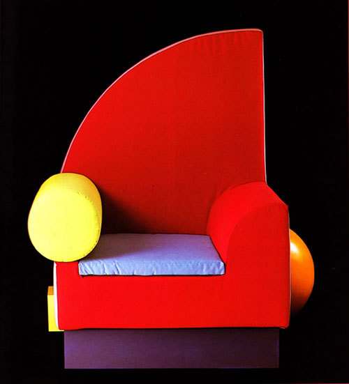 glaspopsuper:  Peter Shire, Memphis, 1986