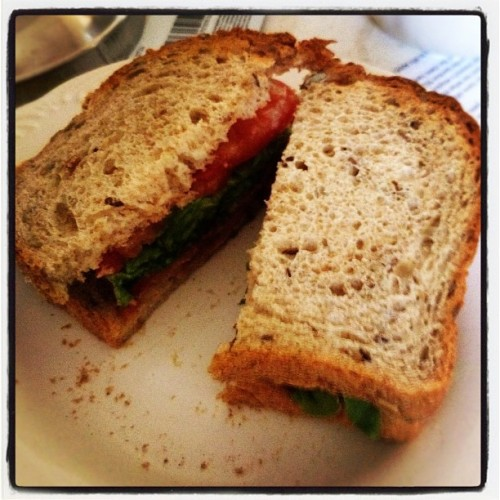 #breakfast #blt (Taken with instagram)