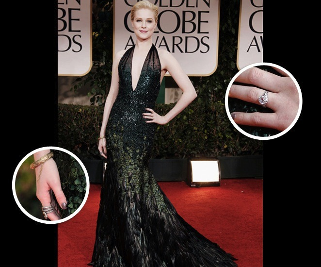 thedailyfeed:  Best Dressed 2012: Last night's red carpet at the Golden Globes inspired more yawns than gasps, but, thankfully, also more successes than tragedies. There's always Emma Stone's tremendous eagle belt to fawn over.   SALMA!!!! THAT IS ALLLLLL!!!