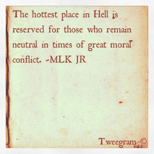 #tweegram #powerful #mlk #quotes  (Taken with instagram)